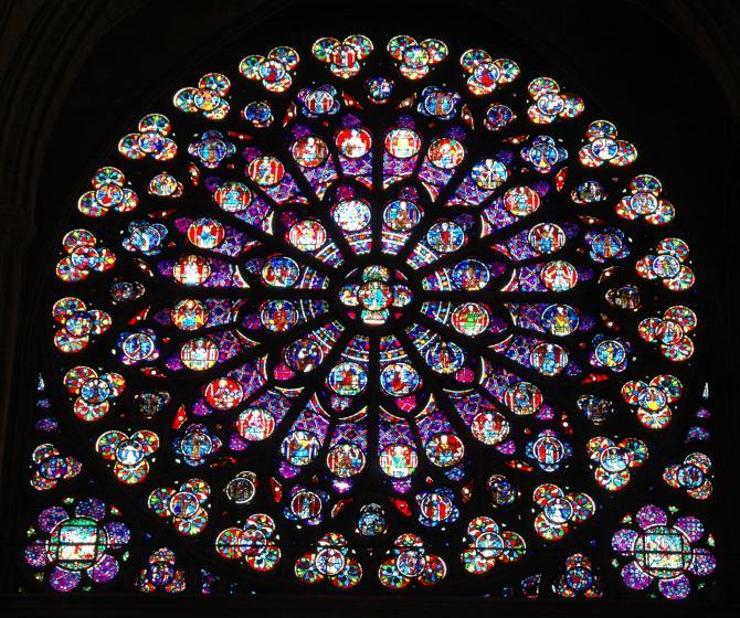 Notre-Dame vitrail